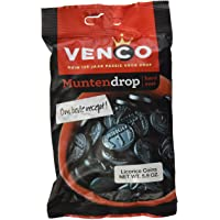 Venco Coin Shaped Licorice 5.9 Oz Bags (Pack of 4)