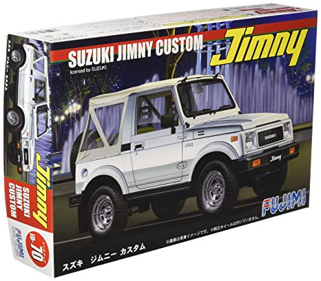 Amazon Com Fujimi Id 70 Suzuki Jimny Custom 1 24 Scale Kit Toys
