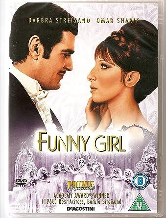 Funny Girl Dvd 1968 Amazoncouk Barbra Streisand Omar Sharif