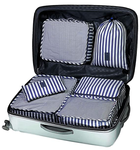 Amazon.com: My FL - Set de organizadores de maleta con cubos ...