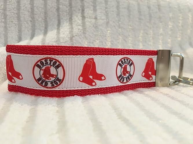 Amazon.com: Boston Red Sox Keychain, Red Sox Gifts, Personalized Keychain, Custom Keychain: Handmade