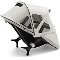 Bugaboo Fox And Cameleon3 Breezy Sun Canopy, Arctic Grey - Extendable Sun Canopy with UPF Sun Protection and Mesh Ventilation Panels