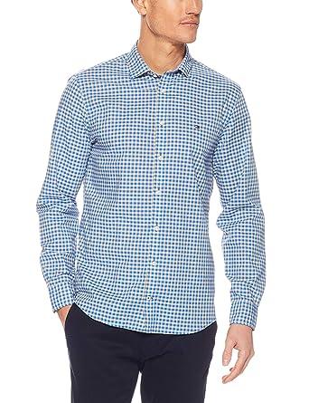 21a8c5d1 TOMMY HILFIGER Men's Multicoloured Check Shirt: Amazon.com.au: Fashion