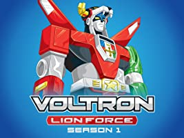 Voltron: Lion Force Season 1 Vol 1