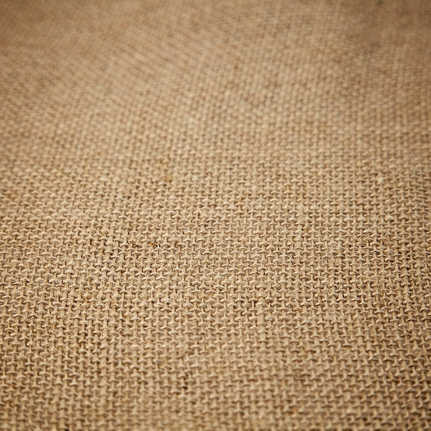 14'' x 50yd NO-FRAY NO-Mess Burlap Table Runner Roll ~ 14'' Wide x 50 Yards Long Table Runner Fabric w/Finished Edges. Perfect for Weddings, Placemat, Crafts. Decorate Without The Mess! by RC RICHCRAFT (Image #5)