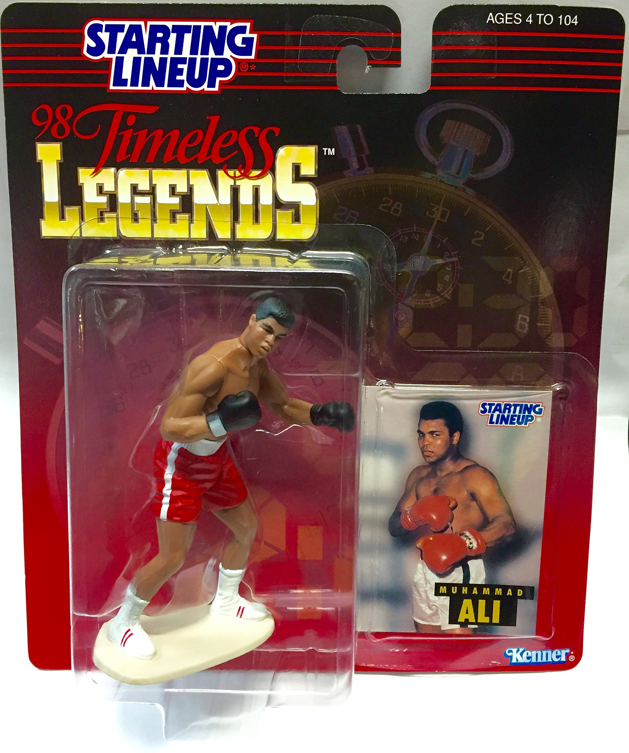 Kenner 1998 Timeless Legends Muhammad Ali from Starting Lineup