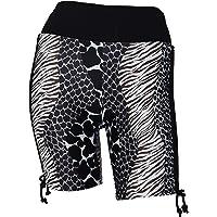 Private Island Hawaii Women UV Rash Guard Hot Board Shorts Pants, Workout Yoga/Fitness/Running/Outdoor/Clothing/RSAP