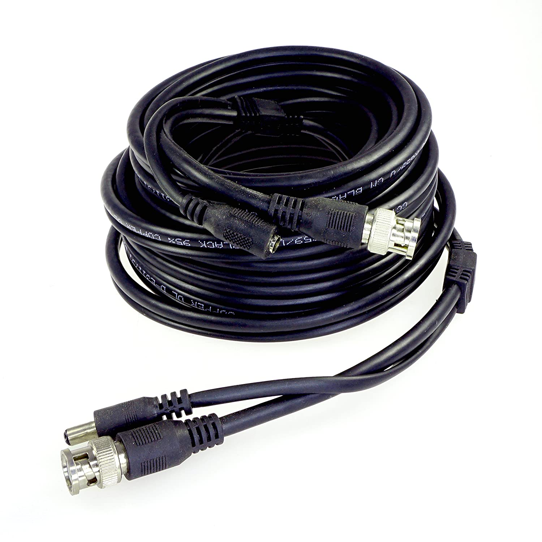 Amazon.com: Five Star Cable UL Listed 60 feet RG59 Siamese Combo ...