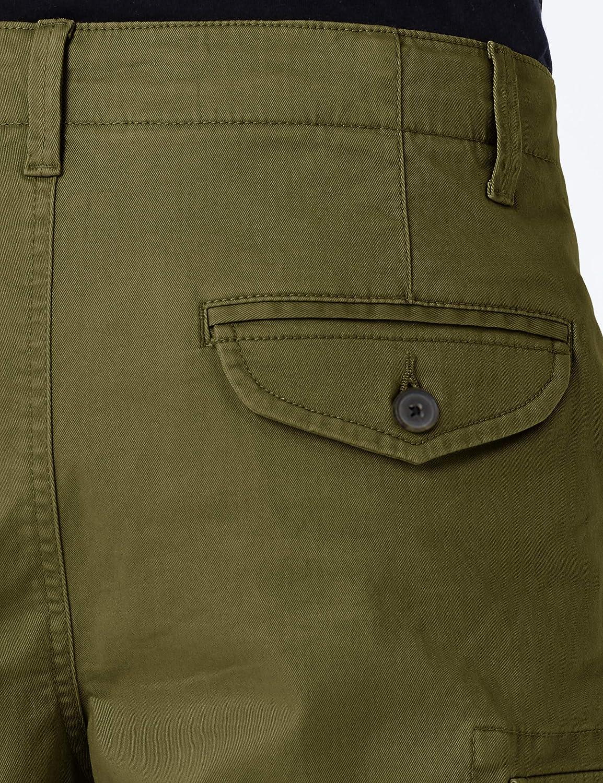 Brand MERAKI Mens Stretch Slim Fit Cargo Trousers