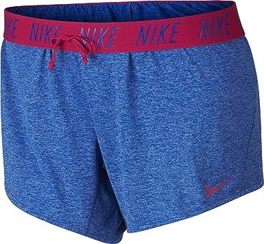 c01c7fffcbc Nike Womens Plus Dri-Fit Logo Shorts Blue 3X at Amazon Women s Clothing  store