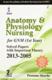 Anatomy & Physiology Nursing For Gnm (1St Year) Solved Papers With Important Theory 2013-2005(2/E)
