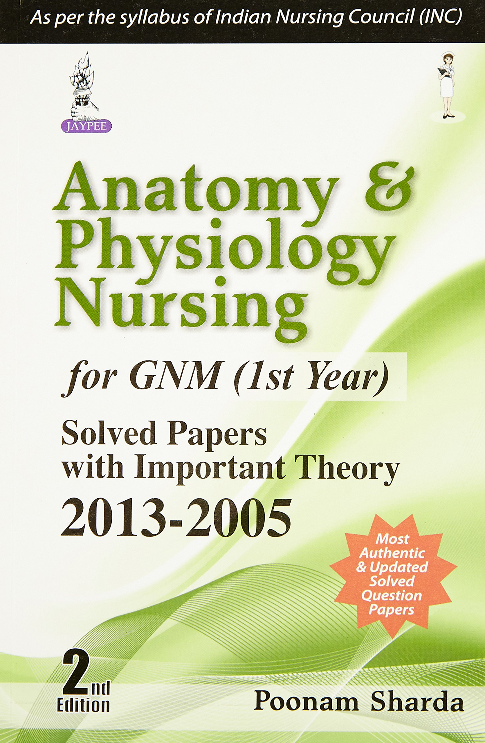 Anatomy and Physiology Nursing for GNM (1st Year): Sharda Poonam ...