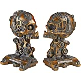 Design Toscano CL7028 Cyborg Skeleton Bookend Statue