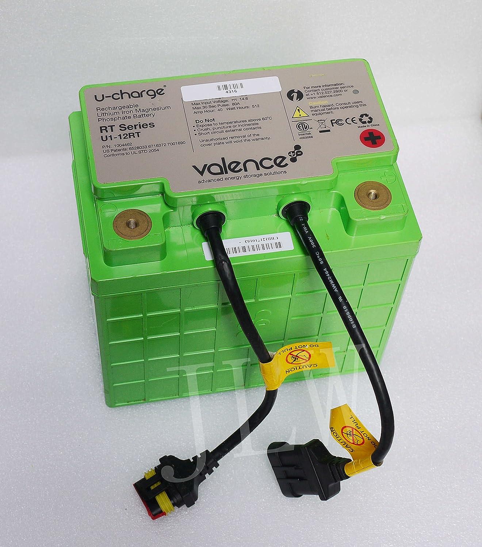 Valence LiFePO4 Batería de litio Hierro Fosfato de magnesio 12 V 40 Ah U1 - 12RT: Amazon.es: Electrónica
