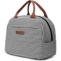 LOKASS Lunch Bag Cooler Bag Women Tote Bag Insulated Lunch Box Water-resistant Thermal Lunch Bag Soft Leak Proof Liner Lunch Bags for women/Picnic/Boating/Beach/Fishing/School/Work