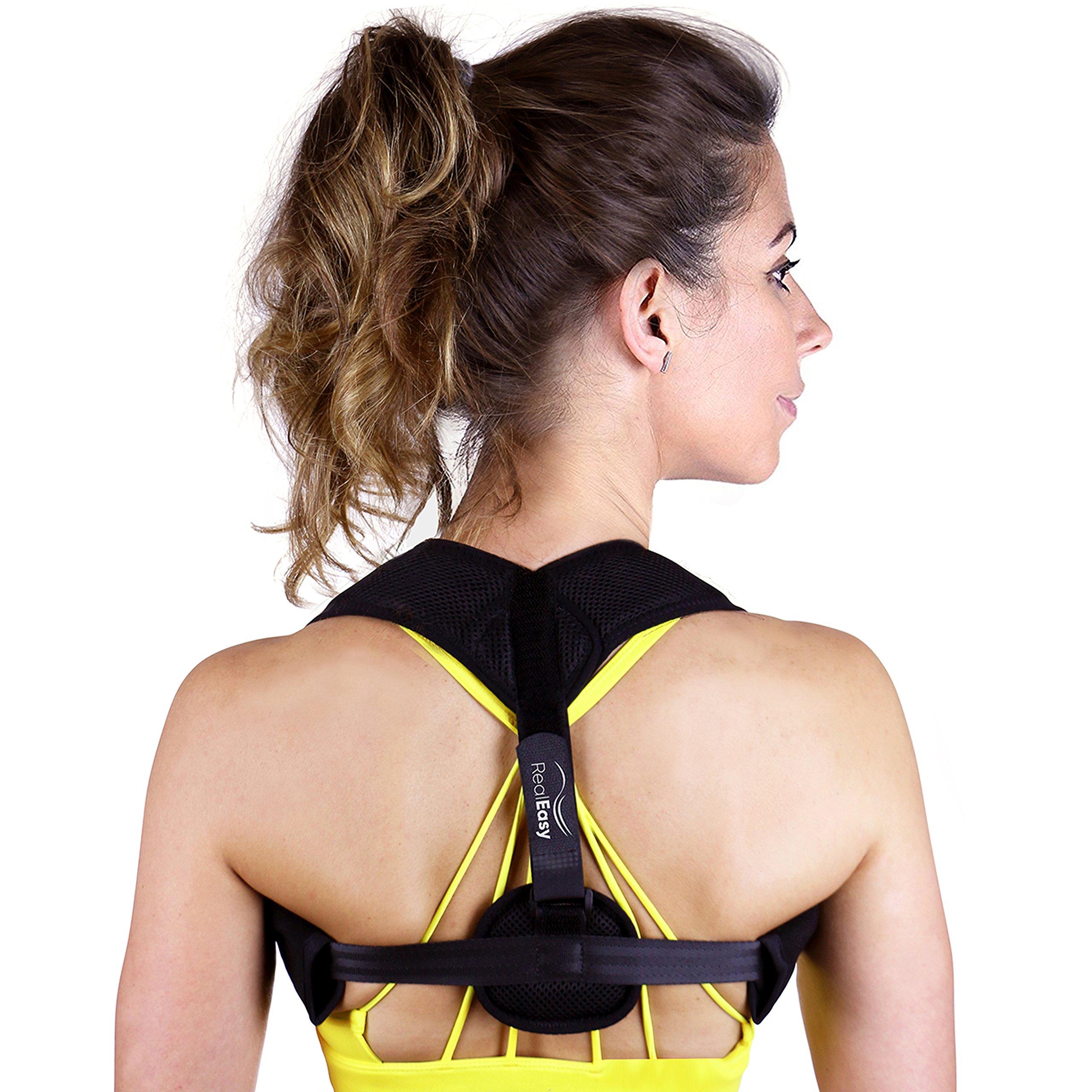 Posture Corrector for Women & Men | Posture Brace for Slouching & Hunching | Shoulder Brace for Back Support - Improve Posture, Prevent Slouching, Reduce Neck & Back Pain