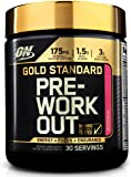 Optimum Nutrition Gold Standard Pre-Workout with Creatine, Beta-Alanine, and Caffeine for Energy, Flavor: Watermelon, 30 Servings