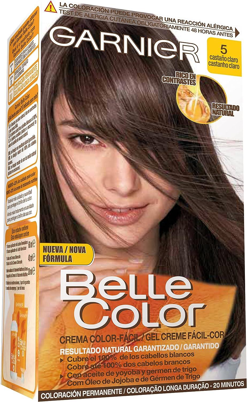 Garnier Belle Color Coloración, Tono: 5 Castaño Claro