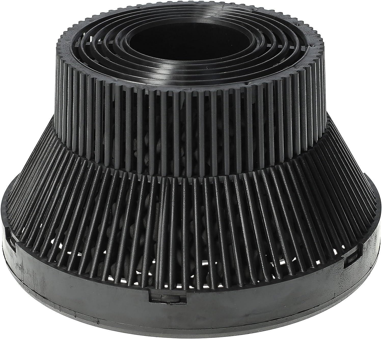 WESSPER® Campana extractora filtro para Teka TL.1-62 (redonda, carbón): Amazon.es: Grandes electrodomésticos