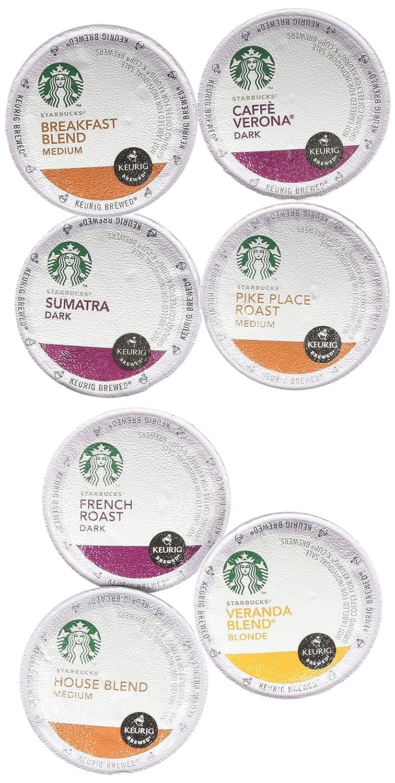 20 count variety pack of starbucks coffee single cups for keurig brewer amazoncom grocery u0026 gourmet food