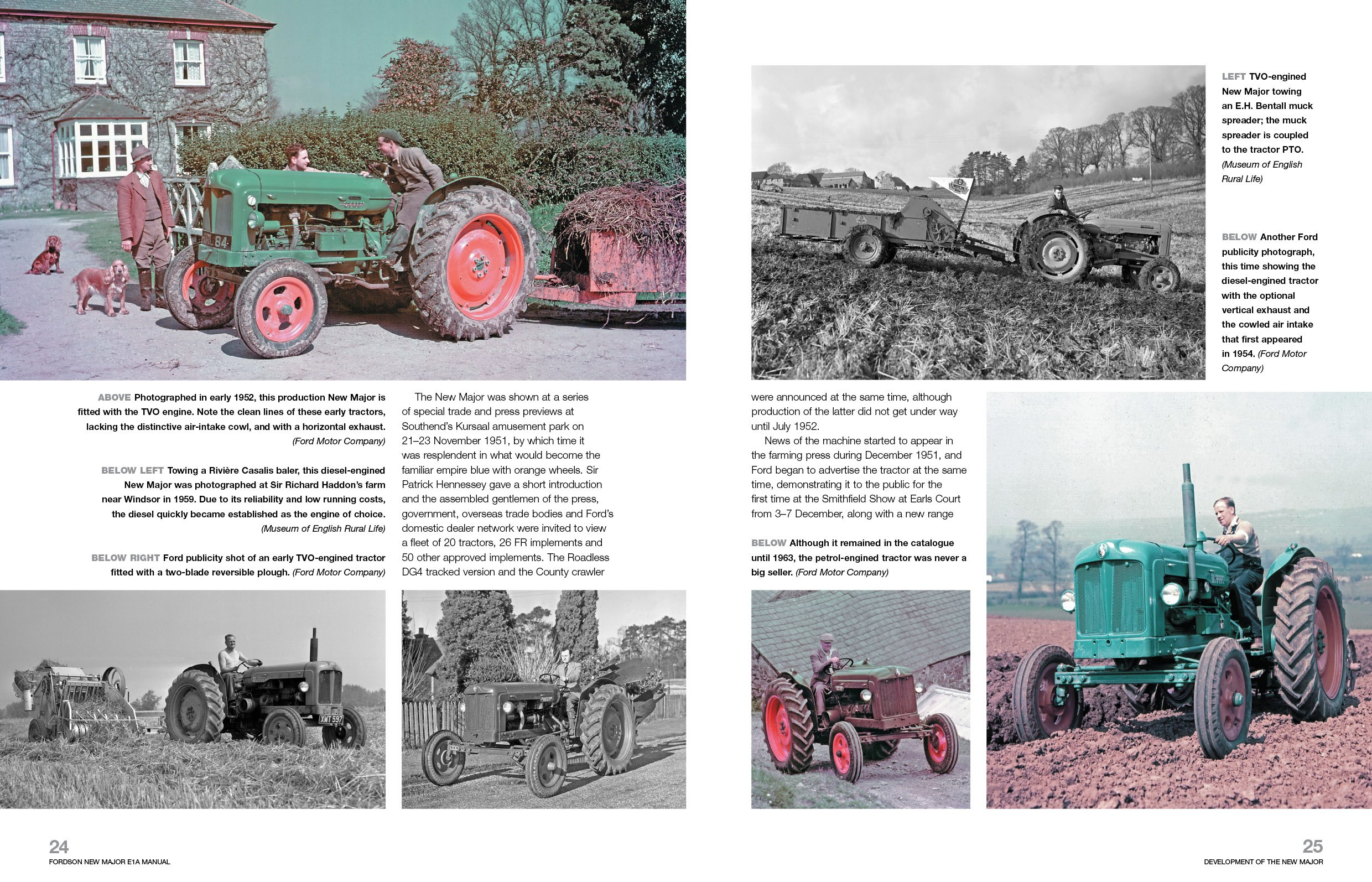 Fordson New Major E1A Enthusiasts' Manual: An insight into the development,  engineering, production and uses of Dagenham's first all-new agricultural  ...