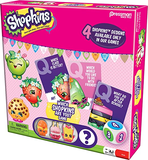 Amazon Com Shopkins Which Shopkins Are You Toys Games