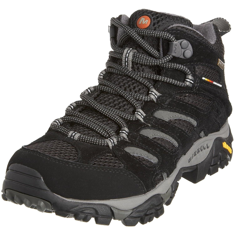 Merrell MOAB MID GTX J87112 - Zapatillas de senderismo de cuero para mujer 37 EU
