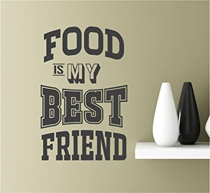 Amazon com: Southern Sticker Company Food is My Best Friend