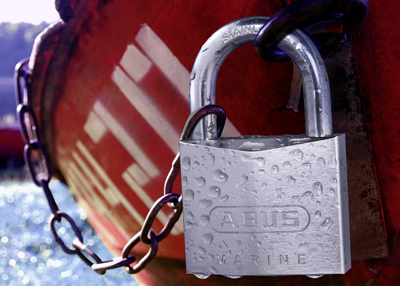 Abus 75IB//40HB-40 B 40mm Body 1.5-Inch Shackle Chrome Plated Brass Padlock