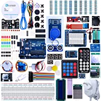 ELEGOO UNO R3 Project Complete Starter Kit with Tutorial Compatible with Arduino IDE (More Than 200 Items)
