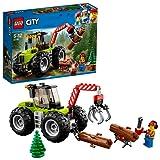 Lego City 60181 - Starke Fahrzeuge Forsttraktor, Cooles Kinderspielzeug