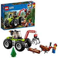 Lego City Great Vehicles Trattore Forestale,, 60181