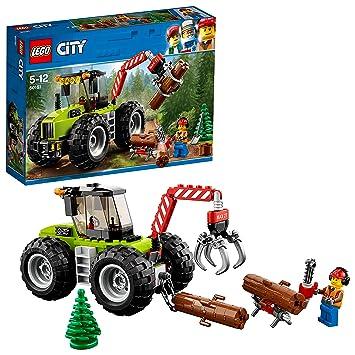 tracteur forestier lego
