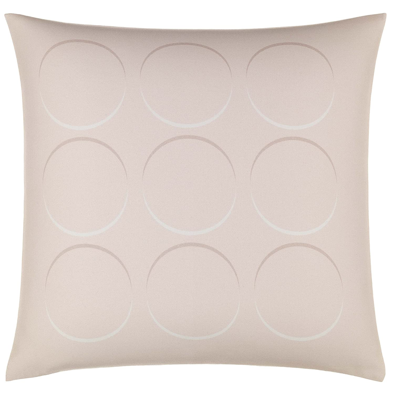 "Now House by Jonathan Adler Optical Circles Throw Pillow, 18"" x 18"", Peach"
