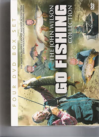 The John Wilson 'Go Fishing' Collection: Amazon co uk: DVD & Blu-ray