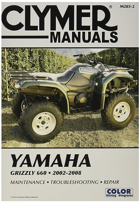 amazon com clymer m2852 repair manual automotive rh amazon com Yamaha Grizzly 450 Specs 2008 yamaha grizzly 450 service manual