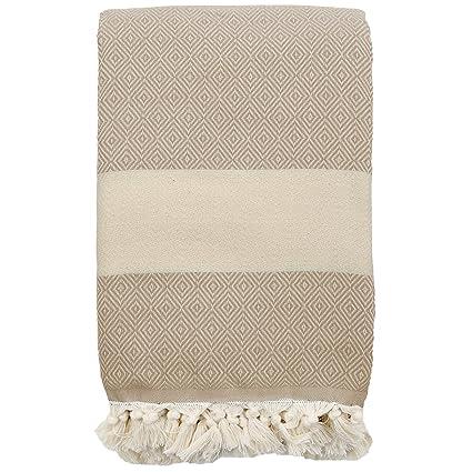 56abdc0d1 Amazon.com  Turkish Throw   Bed Blanket Super King Size - Diamond ...