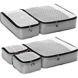 eBags Light 5pc Packing Cubes (Grey)