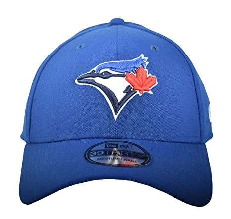 ee251ff9e29 Amazon.com   MLB Toronto Blue Jays Team Classic Game 39Thirty Stretch Fit  Cap