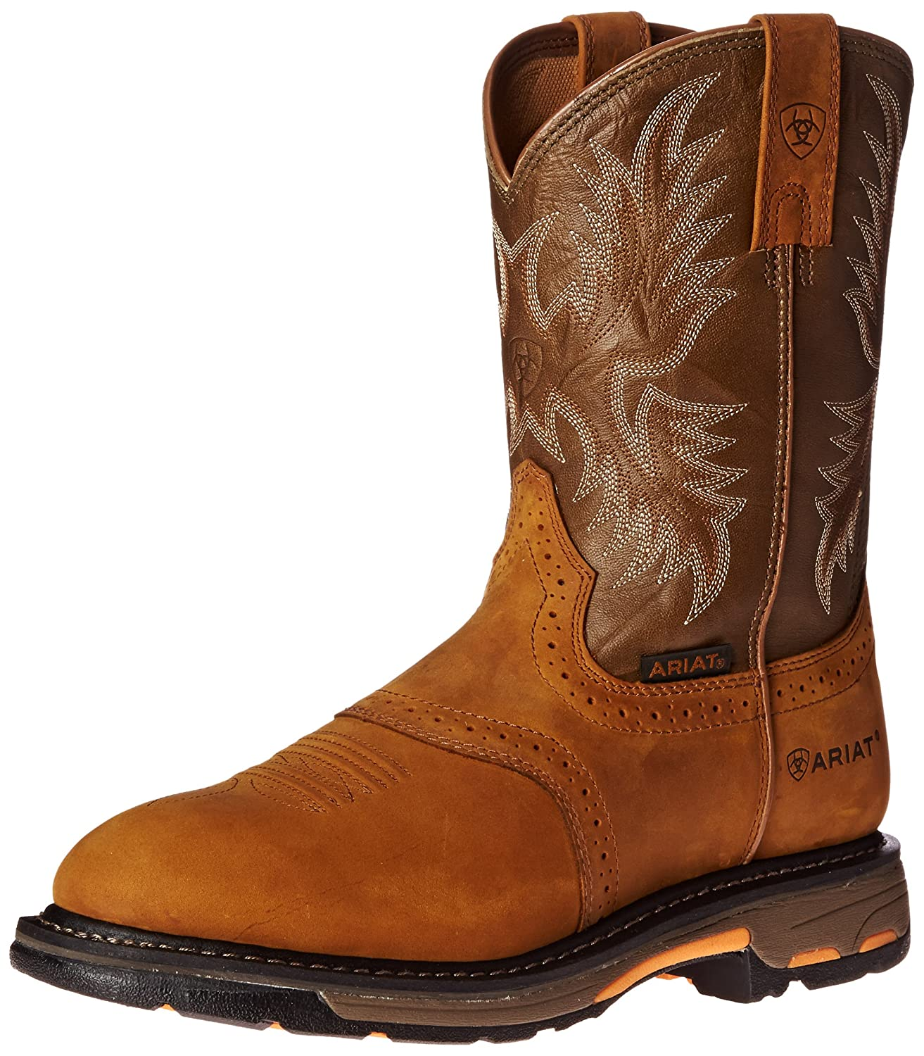 Ariat メンズ B0030FAEYO 11.5 Wide (EE) US|Aged Bark/Army Green Aged Bark/Army Green 11.5 Wide (EE) US