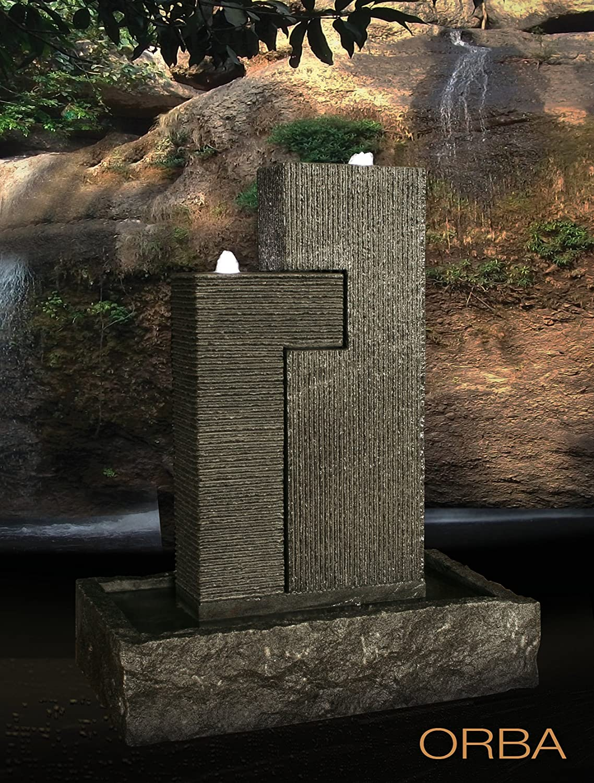Diamond Garden Granitbrunnen Orba