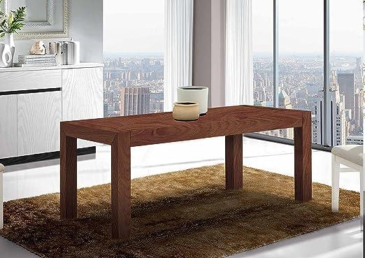 Angulo Interiores Mesa de Comedor Extensible. Fabricada a Mano en ...