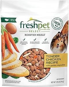 Freshpet Dog Food, Roasted Meals, Tender Chicken Recipe, 1.75 Lb