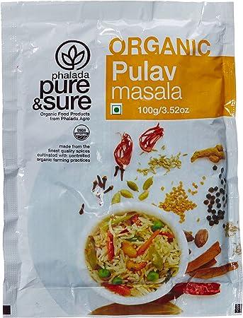 Pure & Sure Organic Pulav Masala, 100g