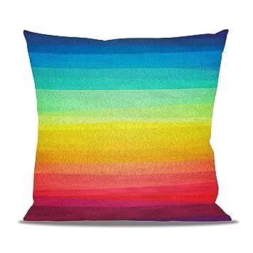 Amazon.com: Color Hasta Tu Vida. forro polar – Cojín con ...