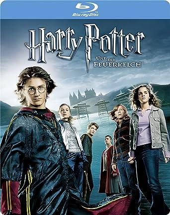 Harry Potter Und Der Feuerkelch 1 Disc Steelbook Blu Ray Amazonde