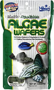Hikari Tropical Algae Wafers for Bottom Feeding Herbivorous Fish Food