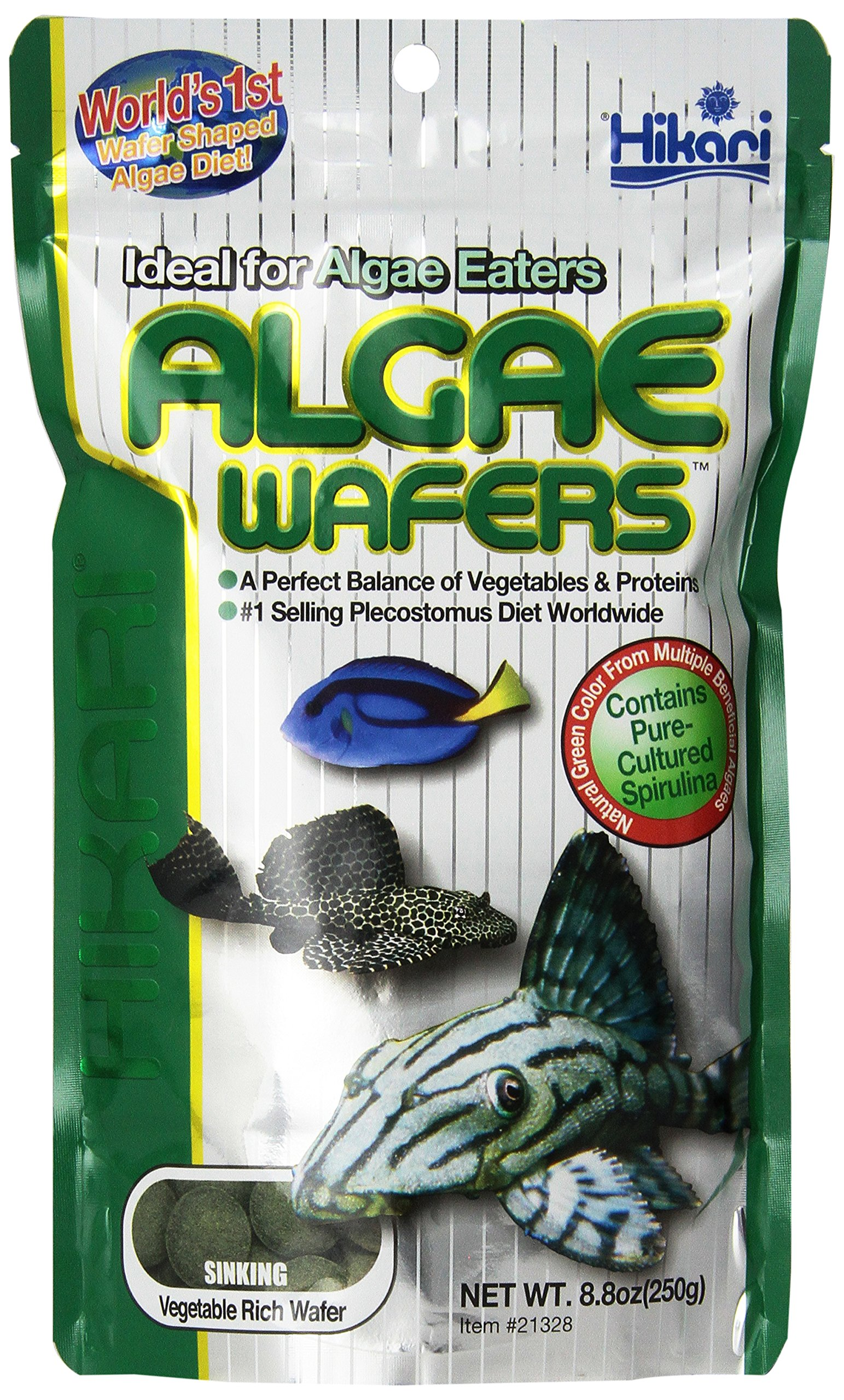 Hikari Usa Inc AHK21328 tropical Algae Wafer 8.8-Ounce by Hikari Usa Inc.