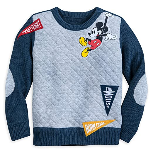 Amazoncom Disney Mickey Mouse Sweater For Kids Multi Clothing