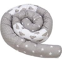 cojin serpiente patchwork - protector cuna chichonera cojin